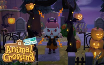 Animal Crossing: New Horizons, in arrivo update a tema Halloween