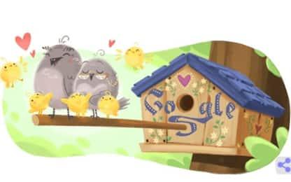 2 ottobre, Google dedica un doodle alla festa dei nonni