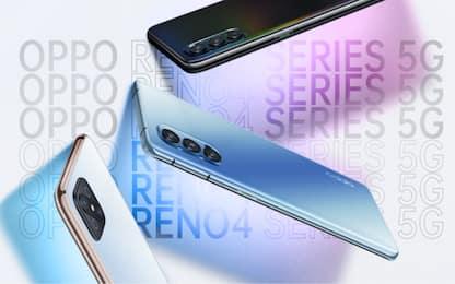 Oppo lancia la serie di smartphone 5G Reno4 e il suo smartwatch