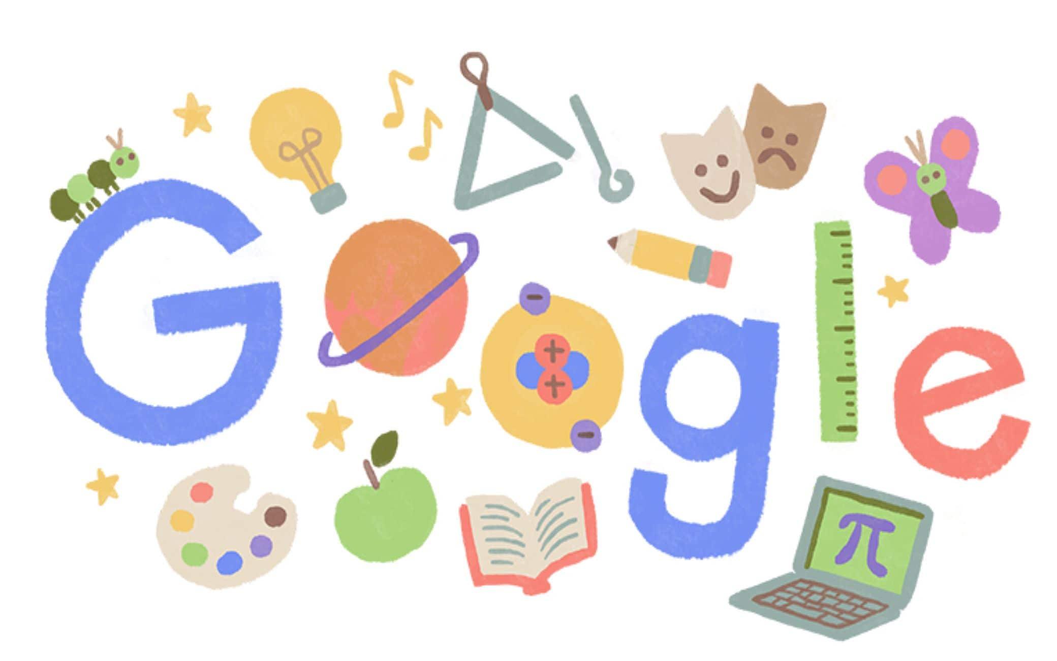 Il doodle sulla Giornata mondiale degli insegnanti