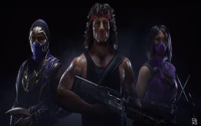 Rambo si unisce al roster di Mortal Kombat 11 Ultimate
