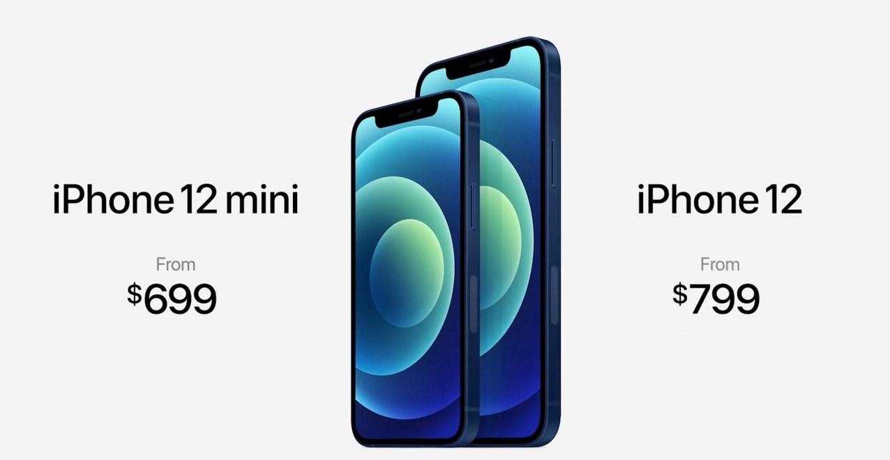 I prezzi di iPhone 12 e 12 Mini