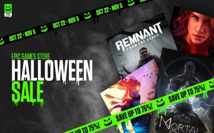 Epic Games Store, al via le offerte di Halloween 2020