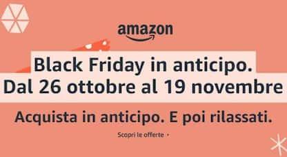 Amazon Black Friday 2020, tutti i buoni sconto e coupon