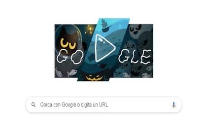 Google festeggia l'arrivo di Halloween con un doodle interattivo