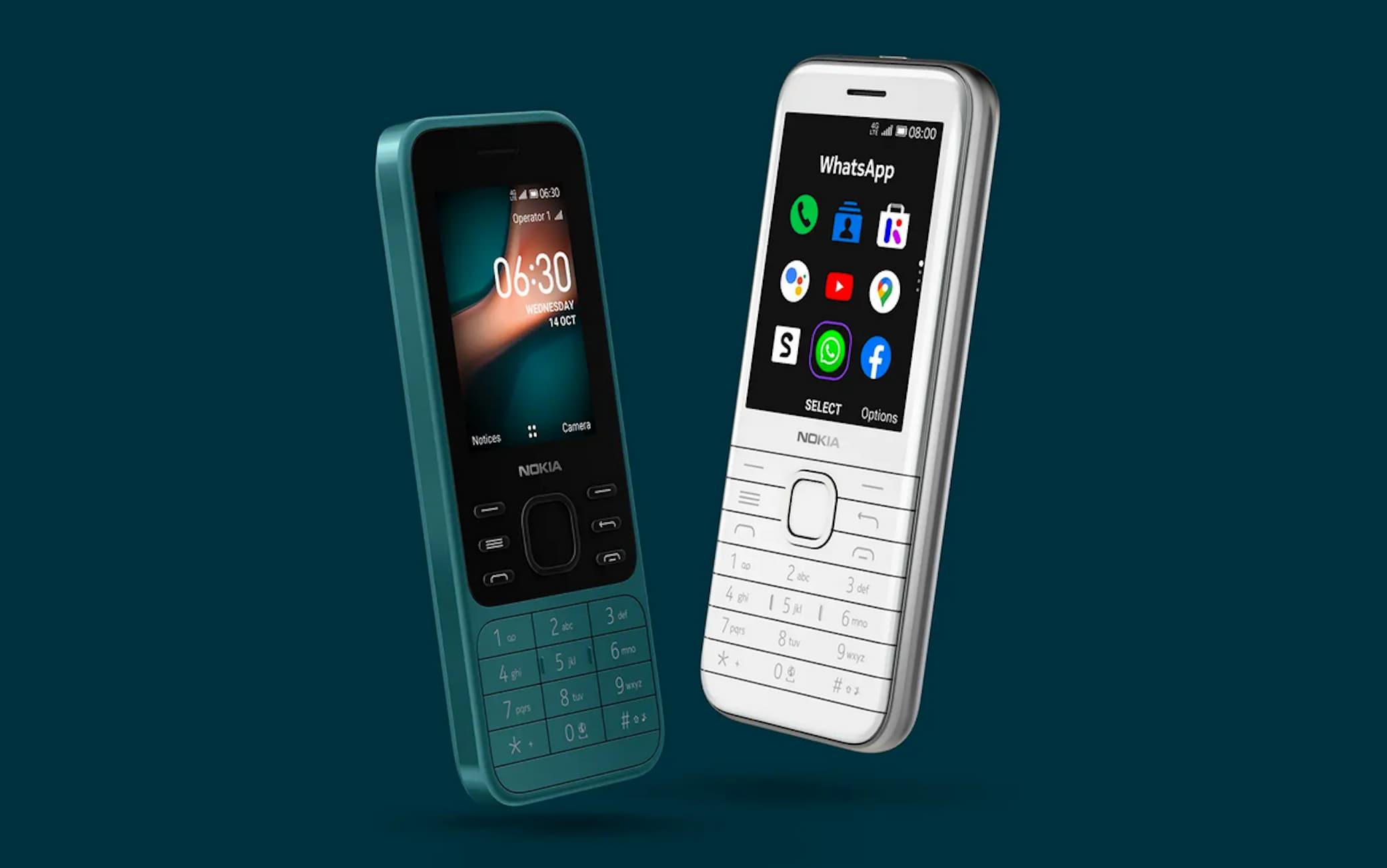 I nuovi Nokia 6300 e 8000