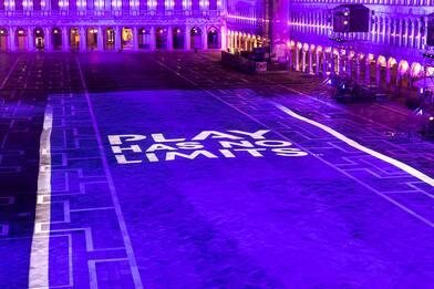 Venezia, la PS5 ridisegna Piazza San Marco. LE FOTO