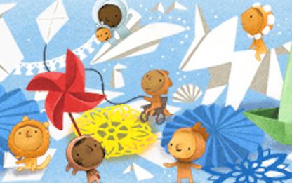 Giornata mondiale dell'infanzia, Google la celebra con un doodle