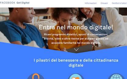 GetDigital, da Fb un progetto per muoversi sicuri nel mondo digitale