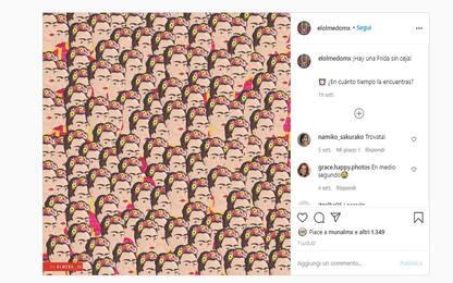 "Su Instagram spopola la sfida ""Trova Frida Kahlo senza sopracciglia"""