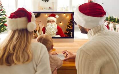 Babbo Natale in call, l'idea che porta la magia delle feste nelle case