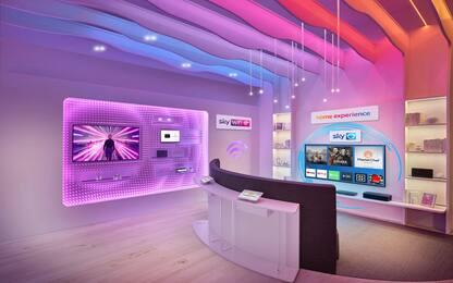 Sky apre la sua rete di negozi in Italia: si parte da Milano