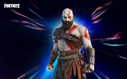 Fortnite con God of War, la skin di Kratos arriva nel Battle Royale