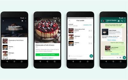 WhatsApp, con la funzione carrello si fa acquisti con un messaggio