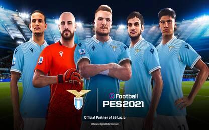 eFootball Pes  2021 e S.S. Lazio, la partnership è ufficiale