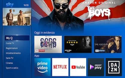 Accordo Sky-Amazon, l'app Prime Video su Sky Q