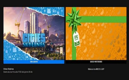 L'Epic Games Store regala Cities: Skylines