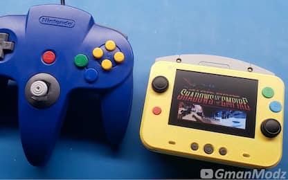 Ecco la versione del Nintendo 64 più piccola mai realizzata