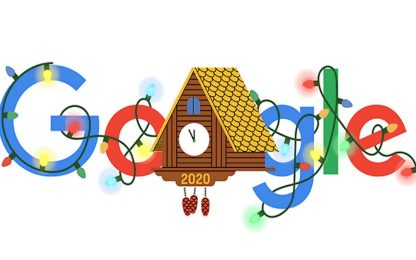 Ultimo dell'anno, ecco il doodle di Google per la fine del 2020