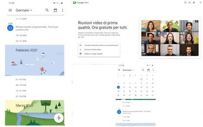 Tecnologia, le ultime novità per Google Meet e Calendar
