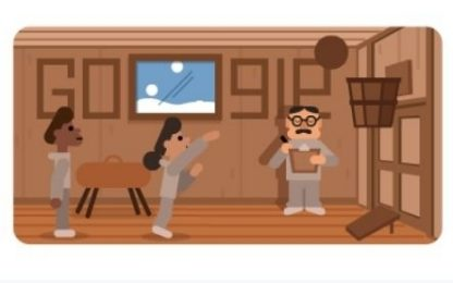 Google dedica un doodle a James Naismith, inventore del basket