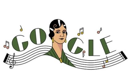 Google dedica un doodle alla compositrice messicana María Grever