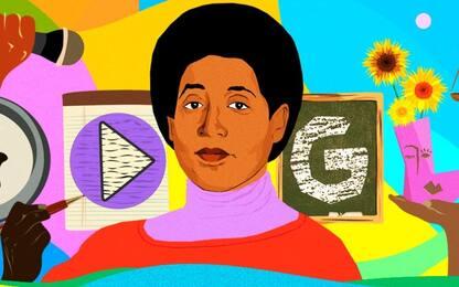 Google dedica un doodle alla femminista afroamericana Audre Lorde