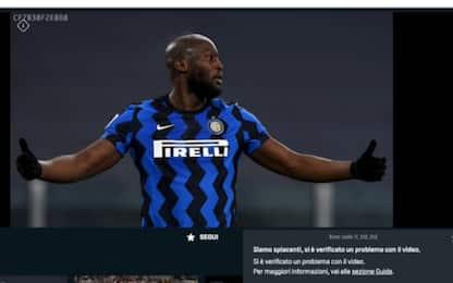 Dazn down, Inter-Cagliari non si vede in streaming: ira dei tifosi