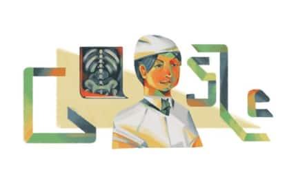 Doodle per Vera Gedroits, pioniera russa della chirurgia di guerra