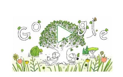 Google dedica un doodle alla Giornata della Terra