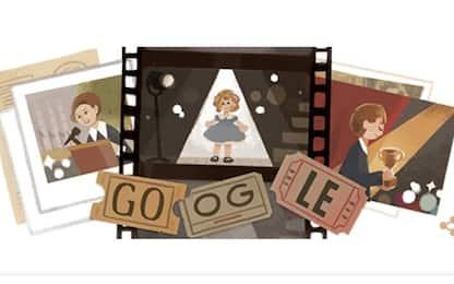 Google dedica un doodle a Shirley Temple, bambina prodigio