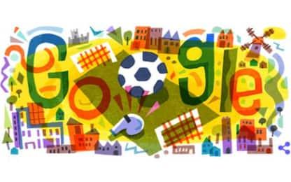 Europei 2020, Google dedica il doodle di oggi al torneo Uefa
