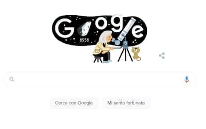 Google dedica il Doodle in 3D a Margherita Hack