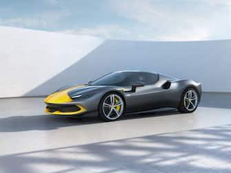 La Ferrari 296GTB nell'allestimento da pista Assetto Fiorano