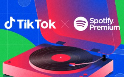 Spotify Premium diventa gratis per gli utenti di TikTok
