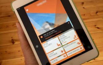 """19 May 2020, Berlin: On an Ipad, information can be seen in the user app of the low-cost airline Easyjet. At the airline, unknown attackers have gained access to the e-mail addresses and travel details of around nine million customers. (To dpa """"Hacker attack on Easyjet - Nine million customers affected"""") Photo: Kathrin Deckart/dpa"""
