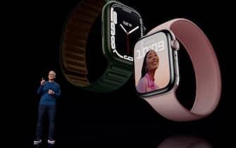 La presentazione di Apple Watch Series 7