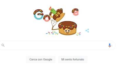 Google compie 23 anni e festeggia con un doodle