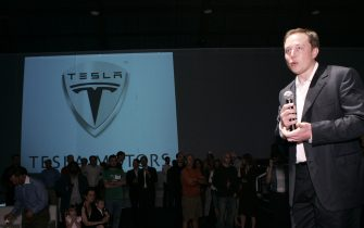 Elon Musk (Photo by Chris Weeks/WireImage) *** Local Caption ***