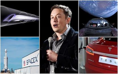 Da Tesla a SpaceX, i progetti visionari di Elon Musk. FOTO
