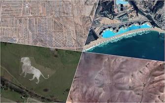 Alcuni dei luoghi più strani visibili con Google Earth