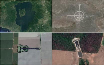 Google Earth, i 10 posti più strani catturati dal satellite. FOTO