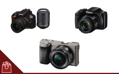 Le migliori fotocamere, da Canon a Nikon
