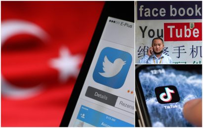 Dalla Turchia alla Corea del Nord, Paesi che limitano accesso a social
