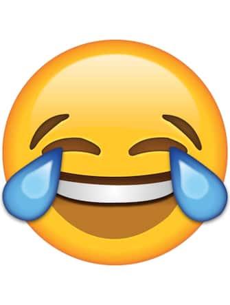 Emoji che ride