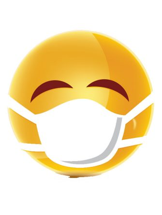 Emoji con la mascherina