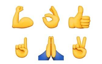 Emoji mani