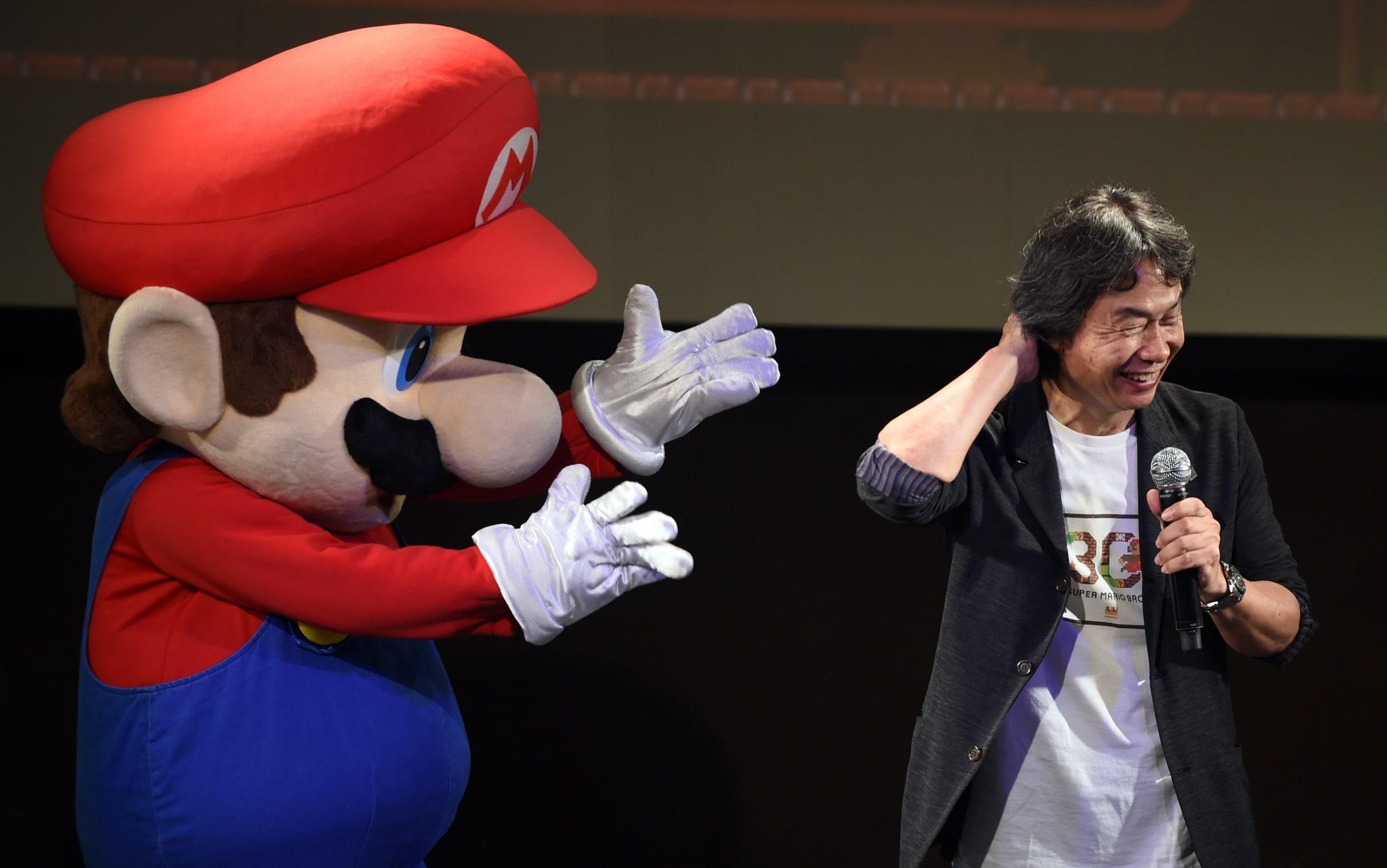 super mario bros shigeru miyamoto