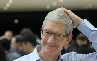 Il ceo di Apple Tim Cook