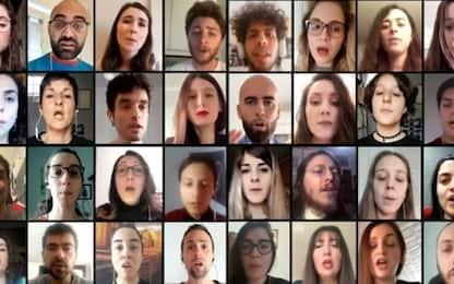 Il coro virtuale canta Hallelujah e il risultato è sorprendente